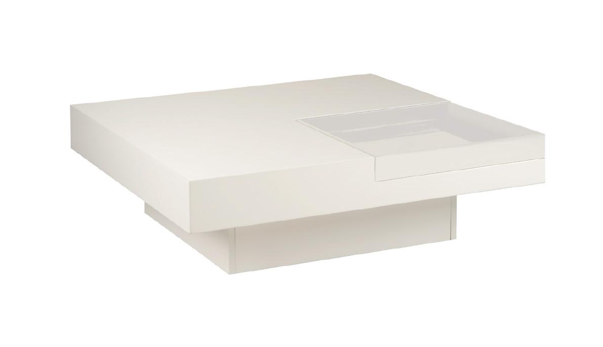 Salon Tafel Wit : Goretti salontafel napoli wit wit kollektion schränken tische
